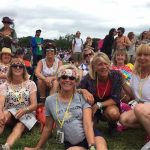 60th birthday celebrations at Glasto