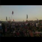 Dusty Pyramid sunset!