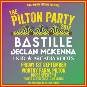 2017 Pilton Party with Bastille is a sell out!