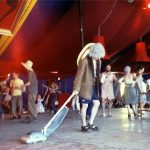 Vacuum dancers in the Lost Vagueness tent