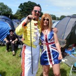 Me (Freddie Mercury) and Kathryn (Ginger Spice)