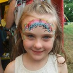 My beautiful daughter having a beautiful time :)