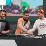 DJs rock the crowd in the Glade Lounge