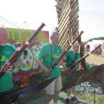 Wind Power Bassoon Trio in the Green Fields