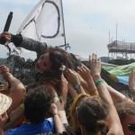 Amanda Palmer crowd surfing