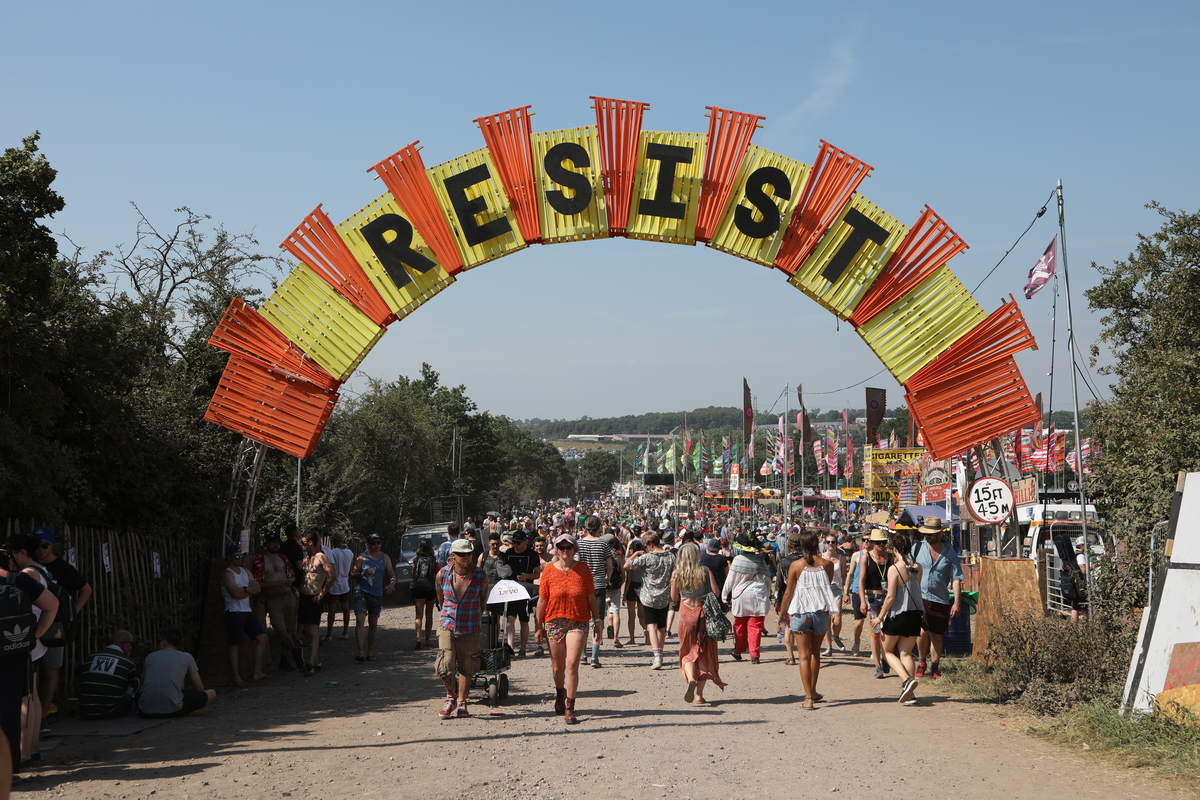 Greenpeace at Glastonbury 2017