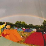 I'm sure most people who were there in 1998 (the year of torrential non-stop rain) remember this rainbow. I think it was Saturday...