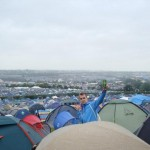 The view that I woke up to at my first Glastonbury...I'll never forget it and the beer I enjoyed that morning too :)