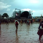 The puddle beside the Other Stage