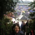 A sea of tents