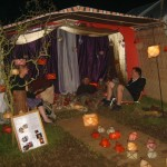 Global Lanterns - market stall in the Green Fields