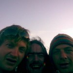 Billy, Josh and Tom looking worst for ware on there last day at Glasto 2008