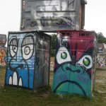 Banksy - Toilets in the Stone Circle, they kept us dry