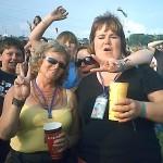 Sarah, Den, Lesley and hot cider!