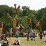 The dragon at the stone circle