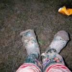 My lovely 'muddy' wellies!!!