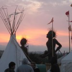 Glastonbury sunrise 2009