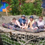 First glastonbury -but not the last- 4 happy boys