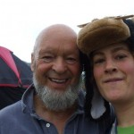 I bumped into Michael Eavis at the Park when I was waiting for Dead Weather!