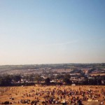 A view from the top of the stones in 1995. Sun, glorious sun!