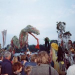 This was one of the evening parades through the Circus field in 1995.