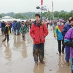 Here I am having a great time in the mud and rain. Where is the 'jazz camping'?
