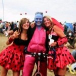 amazing night, blue man wanted a picture with me and my auntie soo here it is :)