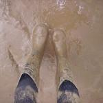 Muddy Glasto Feet.. (and legs)