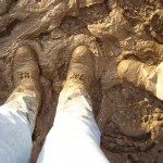 What are you worrying about - its only a bit of mud!