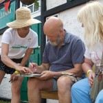 Michael Eavis becomes a beneficiary owner of Airplot in the Greenpeace Field.