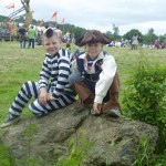 James and Aidan - They love to come in fancy dress!