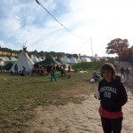 ..a brief stop by the tipis.