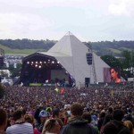 amy on pyramid stage