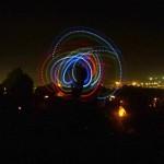 Glow spinning