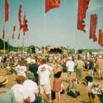 Flags at Jazz Stage
