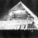 Main stage at night, lighting and sound systems a little simpler back then as well.