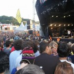 More pics of the crowd watching Thom Yorke