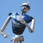 robot in Arcadia