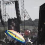 Umbrella and Snoop Dogg.