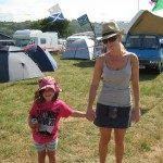 Our first Glastonbury..