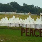 Peace and Sun at Glastonbury!