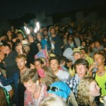 Photo of the crowd during Radio 1's live Essential Mix at Shangri-La, 26th June 2010, 1am-5am.