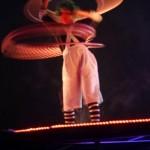 Spinning hoops on afterburner