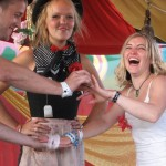 steve & rachel's wedding ceremony at the tiny tea tent on sunday - CONGRATULATIONS TO YOU BOTH X X X