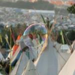 A big bubble!