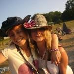 happy & relaxing moments of Glastonbury
