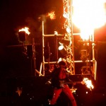 Temple of Fire, Arsonist Pyramide & External Combustion. (Sun 2010 Fire corner, Glebeland)