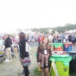 There were loads of people. And lots of stalls, it was amazing