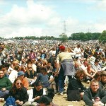 Chilled out afternoon at the Pyramid Stage!