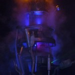 Smokey, towery, fiery...thingy, in Trash City.
